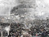 The Tower of Babel—The Crusades by Du Zhenjun contemporary artwork photography