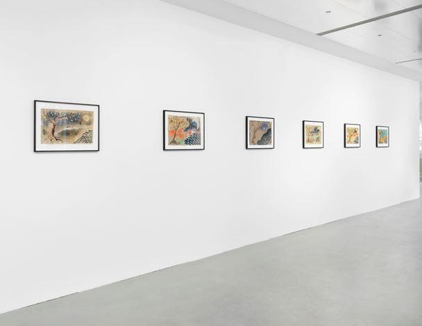 Exhibition view:Isabella Ducrot, Big Aura, Capitain Petzel, Berlin (23 November 2019–11 January 2020). Courtesy Capitain Petzel.