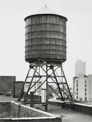 Wasserturm, Greene/Grand St., New York City, USA by Bernd & Hilla Becher contemporary artwork