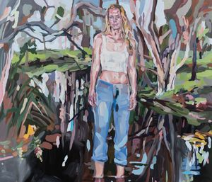 Camille in the Swamp by Oliver Watts contemporary artwork