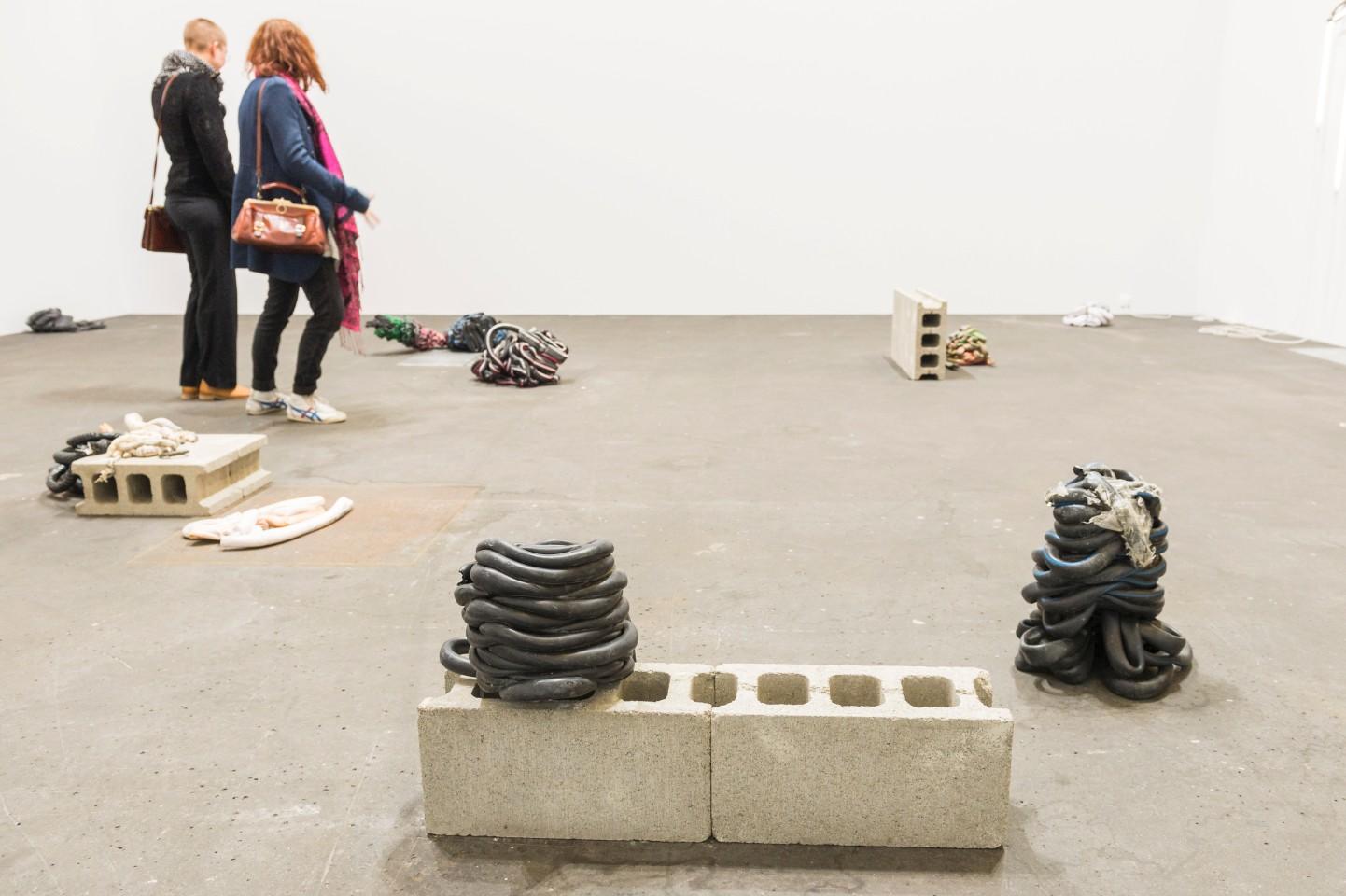Image: Nina Canell at Barbara Wien, Unlimited, Art Basel 2016. © Art Basel.