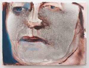Charlotte Rampling by Marlene Dumas contemporary artwork painting