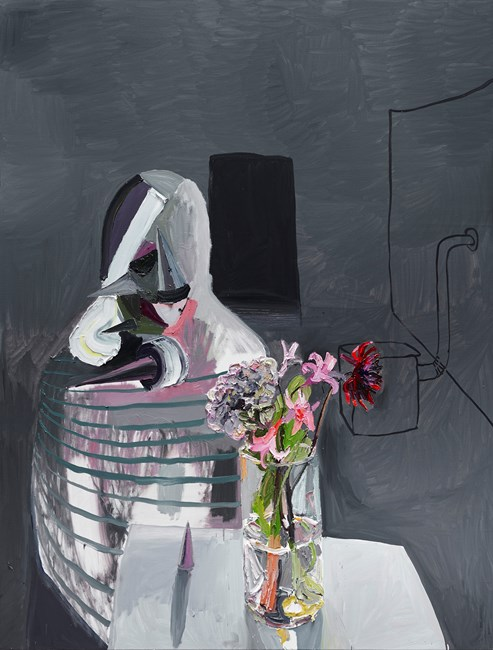 Flowers for Heba by Ben Quilty contemporary artwork