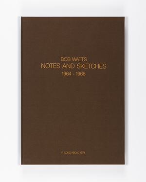 Notes and Sketches 1964-1966 by Robert Watts contemporary artwork