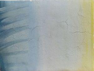 Sitting with a sky 2 by Chafa Ghaddar contemporary artwork