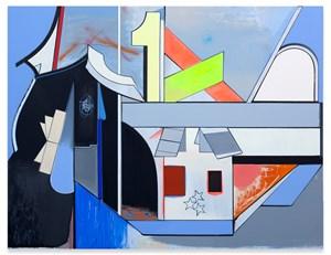 Gasthof Ravoux by Thomas Scheibitz contemporary artwork