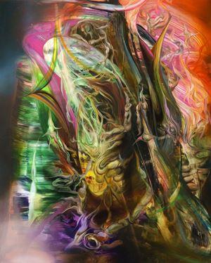 Teething Wall by Ruben Pang contemporary artwork