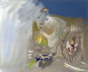 Untitled by Siegfried Anzinger contemporary artwork