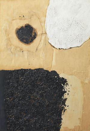 Combustione by Alberto Burri contemporary artwork