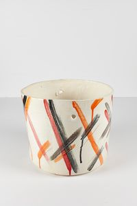 Untitled Large Planter 11 by Rashid Johnson contemporary artwork ceramics