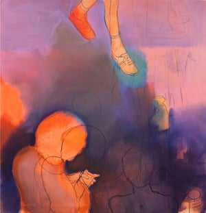 Orange Miasma by Thomas Eggerer contemporary artwork