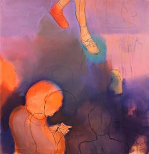 Orange Miasma by Thomas Eggerer contemporary artwork