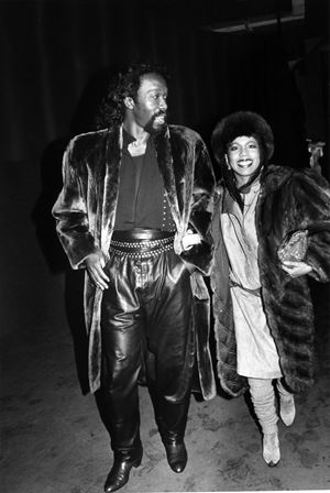 Ashford & Simpson by Bill Cunningham contemporary artwork