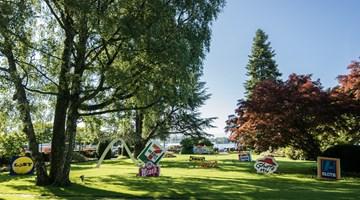 Contemporary art exhibition, Jani Leinonen, Art in the Park at Galerie Gmurzynska, Paradelplatz 2, Zurich