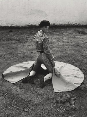 Noel Pardo. Bogota, Colombia II(Torero Series) by Ruven Afanador contemporary artwork
