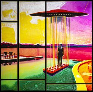 A Lifelong Romance by Lin Jingjing contemporary artwork mixed media