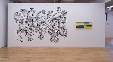 Contemporary art exhibition, Liam Gillick, Horseness is the Whatness of Allhorse at Taro Nasu, Tokyo