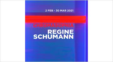 Contemporary art exhibition, Regine Schumann, Chromasophia. Regine Schumann at Dep Art Gallery, Milan
