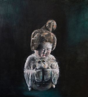 The Void Drones Longingly by Timothy Hon Hung Lee contemporary artwork