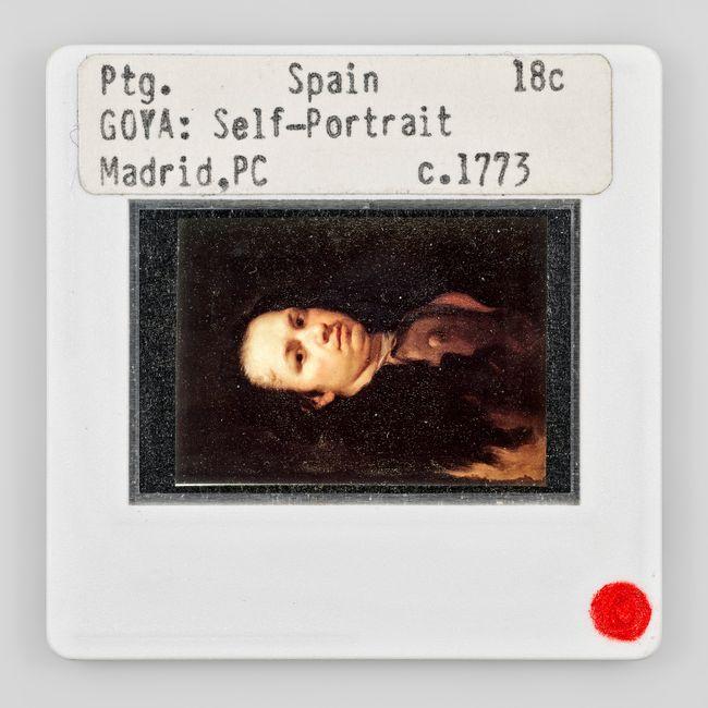 Ptg Spain 18c Goya Self-Portrait Madrid PC c 1773 270° by Sebastian Riemer contemporary artwork