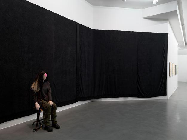 Mai-Thu Perret, Zone, 2016. Exhibition view, Simon Lee Gallery, London. Photo: Todd White. Image courtesy of the artist and Simon Lee Gallery London/Hong Kong.