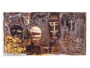 Museamo wa Bogodu (The Museum of Theft) by Phoka Nyokong contemporary artwork