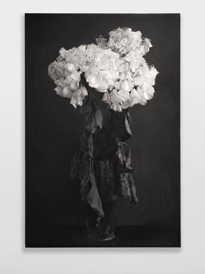Wilting Hydrangeas by Don Brown contemporary artwork