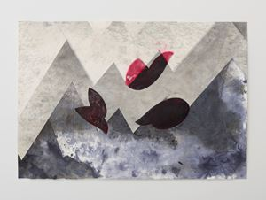 Zig Zag Drawing #2 by Alison Wilding contemporary artwork