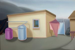 Future Dwelling by Lucy O'Doherty contemporary artwork painting