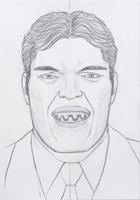 Henchmen Jaws (The Spy Who Loved Me, Moonraker) by Donghyun Son contemporary artwork works on paper, drawing
