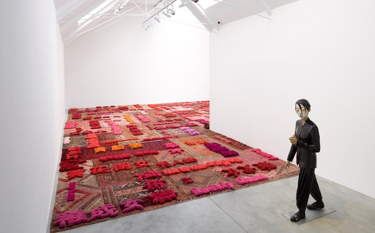 Exhibition view: Group Exhibition, After Image: Dangdai Yishu, Lisson Gallery, Bell Street, London (3 July–7 September 2019). Courtesy Lisson Gallery.