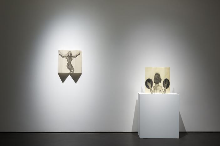 Exhibition view: Sandra Vásquez de la Horra, Take Back My Shadow, Wooson Gallery, Hong Kong (21 March–8 June, 2019). Courtesy Wooson Gallery.