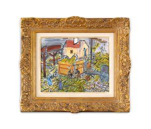 Dépiquage jaune by Raoul Dufy contemporary artwork