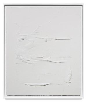 Veritas white I by Jason Martin contemporary artwork