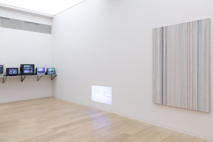 Exhibition view of CONNECT 4: Simon Lee Gallery, Hong Kong, 2016 is courtesy of the gallery.