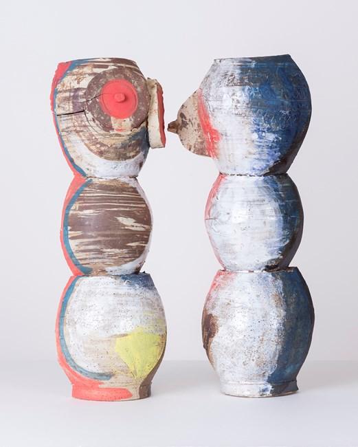 Untitled (Profiles) by Brendan Huntley contemporary artwork