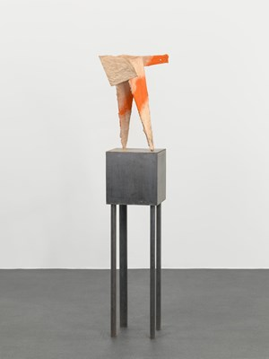 untitled: pointer; 2018 by Phyllida Barlow contemporary artwork