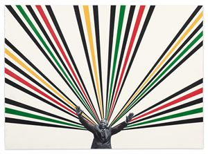 Nelson by Rico Gatson contemporary artwork