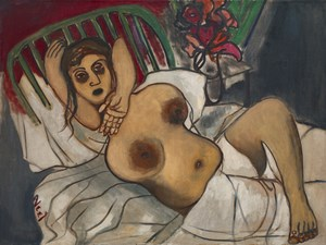 Childbirth by Alice Neel contemporary artwork