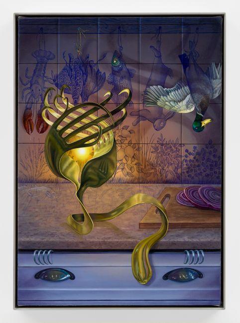 Midnight Snack by Marisa Adesman contemporary artwork