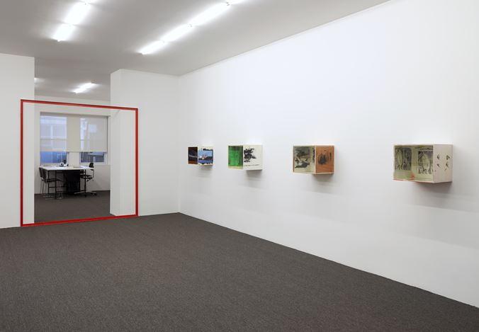 Exhibition view: Henrik Olesen, Galerie Buchholz, New York (2 May–28 June 2019). Courtesy Galerie Buchholz.