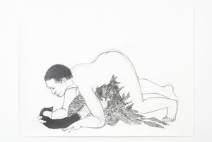 Wrangle by Pamela Phatsimo Sunstrum contemporary artwork