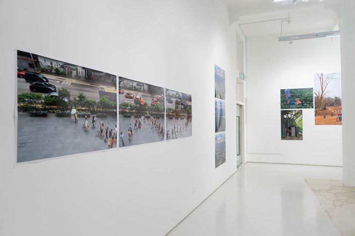 Exhibition view: Hu Jieming and Hu Weiyi,Imagination is Reality: Hu Jieming & Hu Weiyi's South East Asia Residency Exhibition,ShanghART, Singapore (14 April–23 May 2018). Courtesy ShanghART.