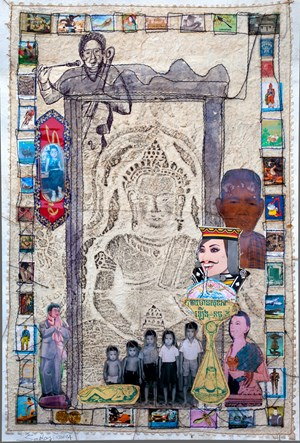 Kantha Bopha Magic Medicine by Leang Seckon contemporary artwork