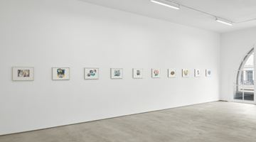 Contemporary art exhibition, Helen Marten, 18 Works on Paper at Sadie Coles HQ, Kingly Street, London, United Kingdom