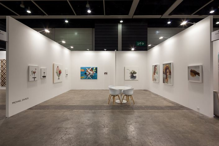 Michael Zavros, Art Basel Hong Kong, installation view, 2015.