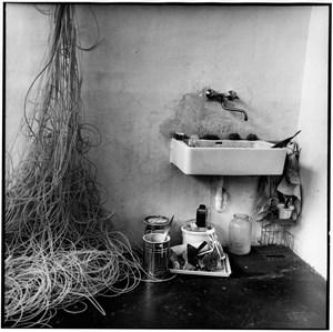 Gerhard Hoehme 1978 Atelier Neuss by Erika Kiffl contemporary artwork