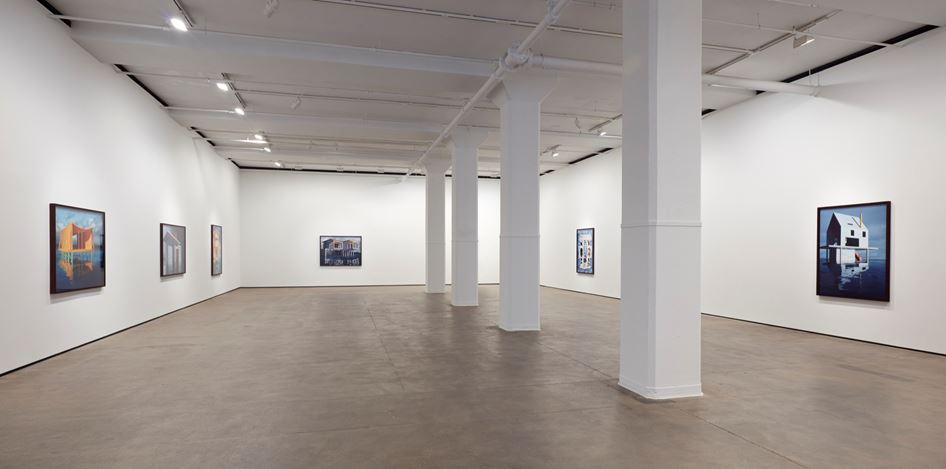 Exhibition view: James Casebere, On the Water's Edge, Sean Kelly, New York (13 December 2019–25 January 2020). Courtesy Sean Kelly, New York. Photo: Jason Wyche, New York.