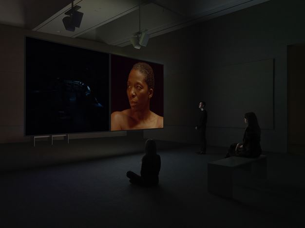 Exhibition view: Stan Douglas, Doppelgänger, David Zwirner, 20th Street, New York (16 January–22 February 2020). Courtesy David Zwirner.