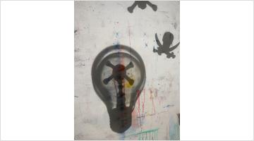 Contemporary art exhibition, Walter Swennen, Parti chercher du white spirit at Xavier Hufkens, 44 rue Van Eyck, Brussels